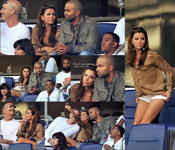 • 14 Août 2o1o •  - New-York, Etats-Unis. ⚽ Eva, Tony & Robert Verdi sont allés au « Red Bull Arena » pour voir un Match de Football.