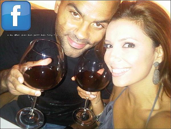 🍴 Eva & Tony sont allés dîner au Katsuya Restaurant.  31 Juillet 2010. Hollywood - Etats-Unis. Tenue: Eva porte une Combi Express & des Escarpins Sergio Rossi.
