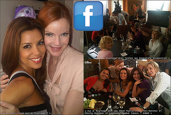 • o4 Août 2o1o •  - Los Angeles, Etats-Unis. 🎥 Eva était sur le « Tournage de Desperate Housewives ».