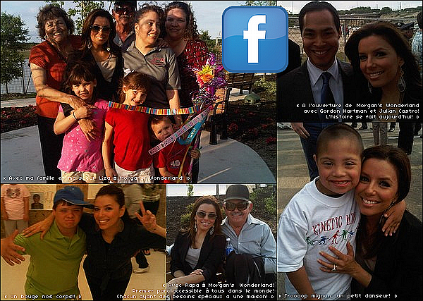 🎡 Eva & sa famille sont allés au Parc d'Attraction Morgan's Wonderland.  1o Avril 2o1o. San Antonio - Etats-Unis.