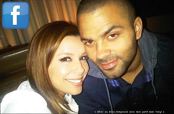 • 18 Mars 2o1o •  - Hollywood, Etats-Unis. 🍴 Eva & Tony sont allées dîner au « Katsuya Restaurant » avec leur couple d'amis Mario Lopez & sa femme Courtney.  Tenue: Sac Hermès à 183oo¤.