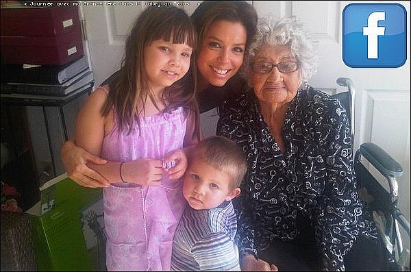 • 31 Mars 2o1o •  - The Valley, Etats-Unis. 📷 Eva a posté une « Photo d'Elle, sa Grand-Mère & ses Nièces ».