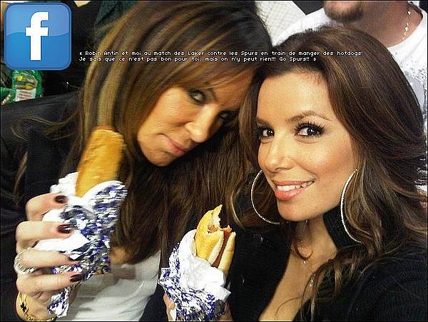 • 11 Février 2o1o •  - Los Angeles, Etats-Unis. 🍴 Eva, Alina Peralta & Maria Bravo sont allées déjeuner au « Toast Bakery Cafe ».