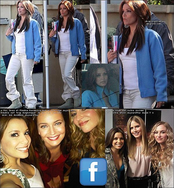 • 23 Février 2o1o •  - Hollywood, Etats-Unis. 🍴 Eva & Alina Peralta sont allées dîner au « Beso Restaurant ». Tenue: Sac Hermès à 183oo¤ & Escarpins Fendi.