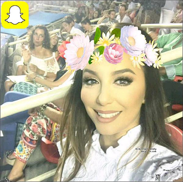 🎾 Eva est allée voir Rafael Nadal lors d'un Match de L'Open d'Acapulco.  o4 Mars 2o17. Acapulco - Mexique.