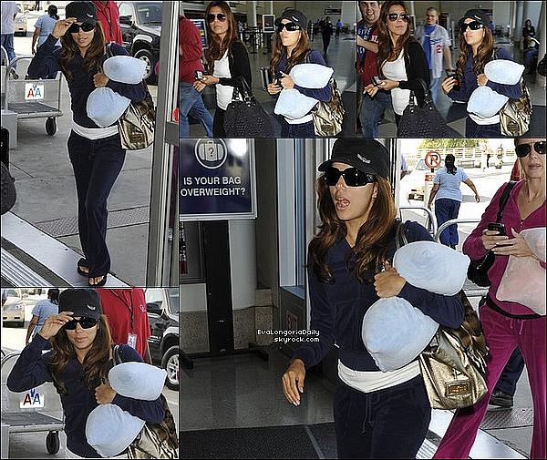 ✈️️ Eva a été vue à Miami Airport.  18 Octobre 2oo9. Miami - Etats-Unis.