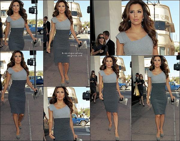 • 29 Octobre 2oo9 •  - Hollywood, Etats-Unis. 🍴 Le soir, Eva est allée dîner au « Beso Restaurant ».