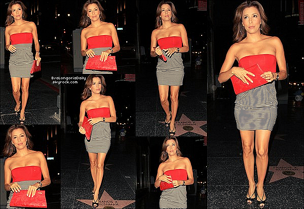 • 3o Juillet 2oo9 •  - Hollywood, Etats-Unis. 🍴 Eva & son amie Sheryl Crow sont allées dîner au « Beso Restaurant ».