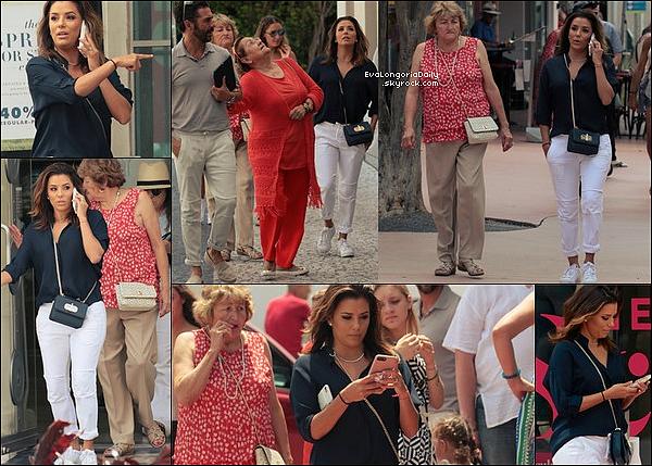 • o2 Mai 2o17 •  - Miami, Etats-Unis. 🍴 Eva est allée « Dîner au Restaurant » avec Claudia Zapata & Sean Elliot.