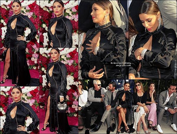 • 24 Mai 2o17 •  - Cannes, France. ⭐ Enfin, Eva & Pepe sont allés à la « PERSOL Party ». Tenue: Escarpins Gianvito Rossi.