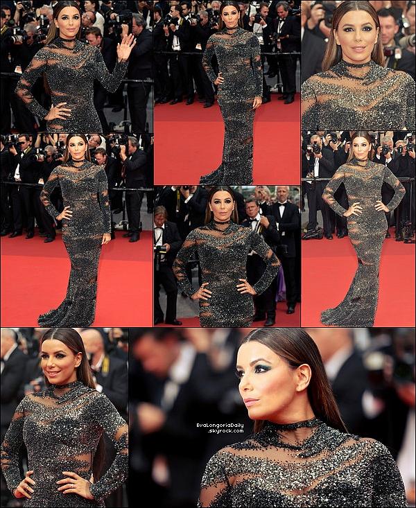 ✴️ Enfin, Eva & Pepe sont allés à la PERSOL Party lors du 70th Annual Cannes Film Festival.  24 Mai 2o17. Cannes - France. Tenue: Eva porte des Escarpins Gianvito Rossi.