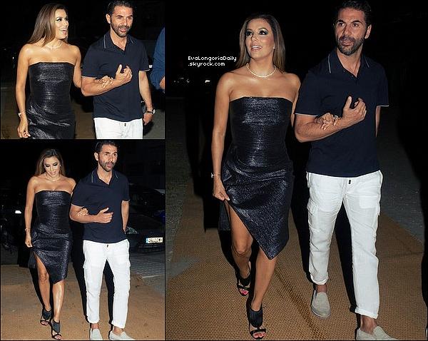🌠 Puis, Eva & Maria sont allées au Global Gift Gala qui se déroulait au Gran Meliá Don Pepe Hotel.  16 Juillet 2o17. Marbella - Espagne.