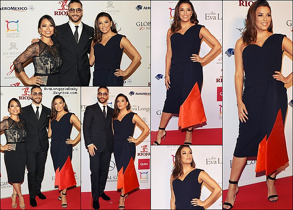 ✴️ Eva & Alina Peralta sont allées au Global Gift Gala.  o1 Novembre 2o17. Mexico - Mexique. Tenue: Eva porte des Escarpins Gianvito Rossi.