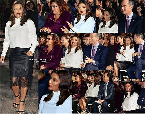 • o9 Novembre 2o17 •  - Los Angeles, Etats-Unis. 🎥 Eva était sur le « Tournage de LA to Vegas ».