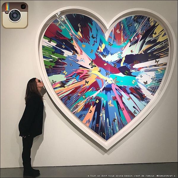 • 25 Novembre 2o17 •  - New-York, Etats-Unis. 🎨 Eva est allée à une « Exposition d'Art ».
