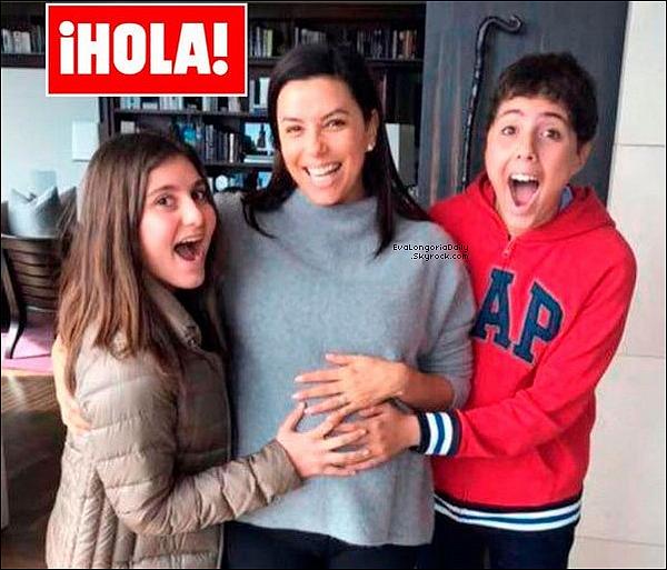 Eva Longoria & Jose Antonio Baston attendent leur 1er enfant!  Un petit garçon prévu pour la fin du printemps 2018 !