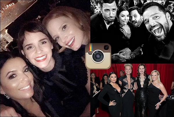✴️ Eva est allée au 75th Annual Golden Globe Awards qui avait lieu au  Beverly Hilton Hotel.  o7 Janvier 2o18. Beverly Hills - Etats-Unis.