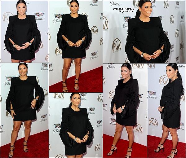• o4 Février 2o18 •  - Los Angeles, Etats-Unis. 📷 Eva a posté une « Photo d'Elle au Restaurant ».