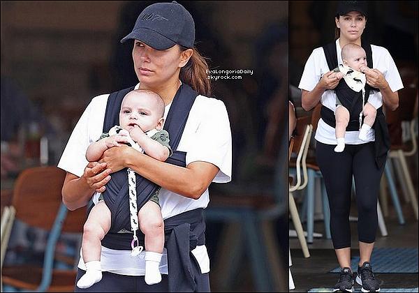 • 28 Octobre 2o18 •  - Los Angeles, Etats-Unis. 📷 Eva a posté une « Photo d'Elle & Santi ».