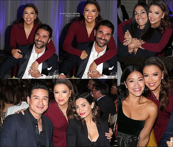 • 15 Novembre 2o18 •  - Los Angeles, Etats-Unis. ⭐ Eva est allée au « Style Variety Inclusion Summit ». Tenue: Escarpins Jimmy Choo.