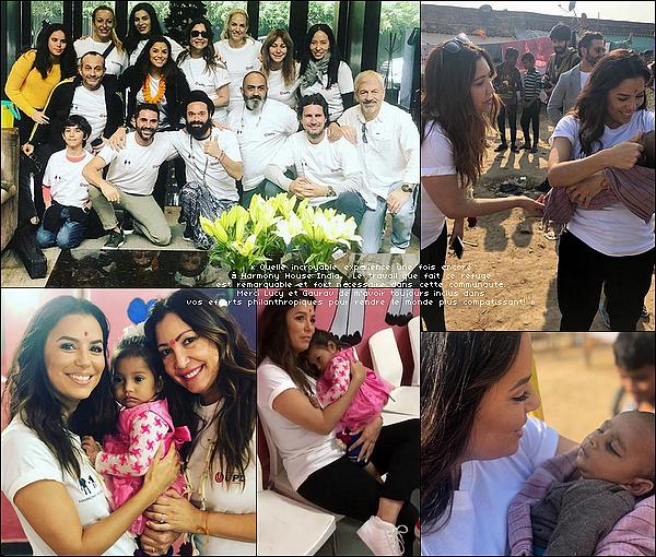 • 14 - 16 Décembre 2o18 •  - Gurgaon, Inde. 🚶 Eva, Pepe, Maria Bravo & Nicolas Escanez sont allés à la « Harmony House India ».