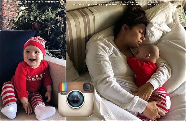 • 23 Décembre 2o18 •  - Valle de Bravo, Mexique. 📷 Eva a posté des « Photos d'Elle & Santiago ». Tenue: Robe Mélissa Odabash à 41o¤.