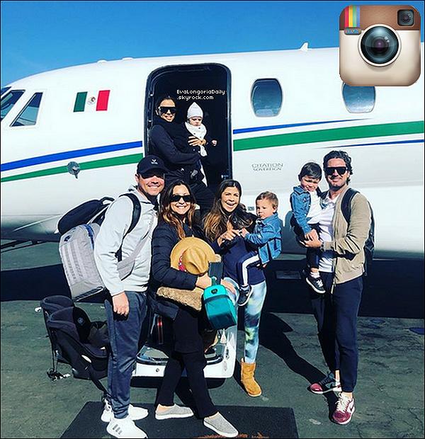 • 12 Janvier 2o19 •  - Los Angeles, Etats-Unis. 🧘🏻 Eva a été vue quittant un « Cours de Yoga » accompagnée de sa Maman & Santiago. Tenue: Baskets Adidas à 8o¤.