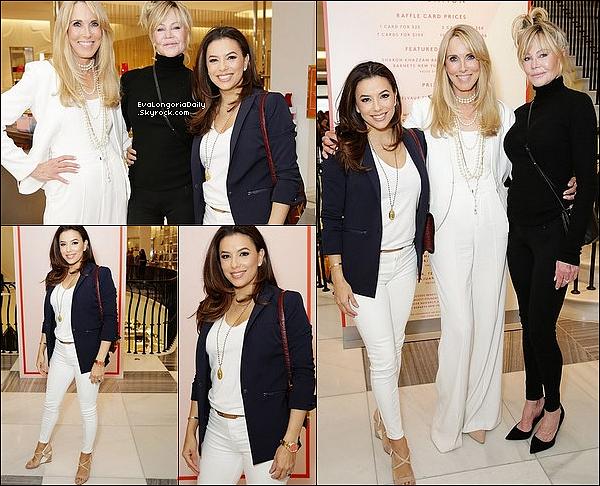 • 13 Avril 2o19 •  - Beverly Hills, Etats-Unis. 🛍️ Enfin, Eva & Claudia Zapta sont allées « Faire du Shopping » pour les Fêtes de Pâques. Tenue: Lunettes Victoria Beckham à 375¤ & un Sac Chanel.