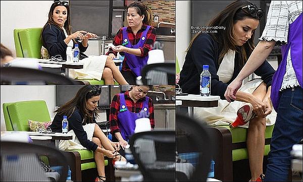 • o9 Mai 2o19 •  - Beverly Hills, Etats-Unis. ⭐ Eva a participé au « Women's Empowerment Luncheon » qui avait lieu au « Viceroy Hotel ». Tenue: Sandales Christian Louboutin.