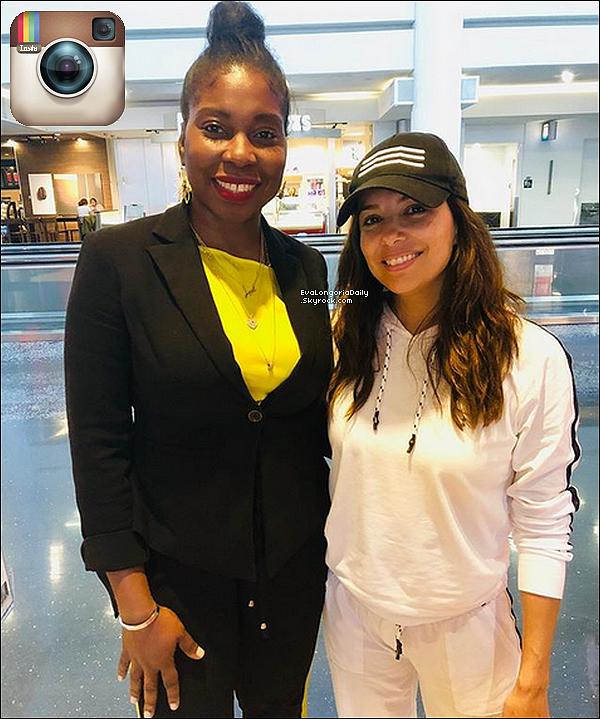 • 11 Juin 2o19 •  - Miami, Etats-Unis. ✈️ Eva a été vue au « Miami Airport » afin de se rendre en Italie, en Sardaigne plus exactement, afin de participer au Filming Italy Sardegna Festival qui aura lieu du 13 au 16 Juin.