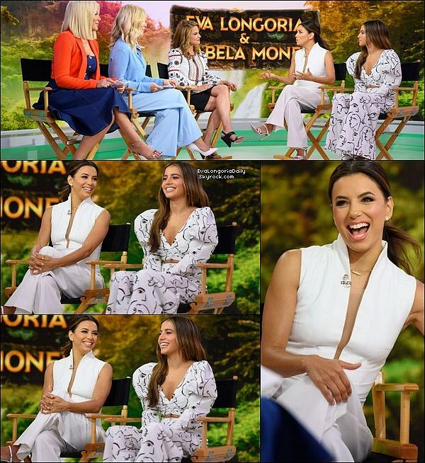 • o5 Août 2o19 •  - New-York, Etats-Unis. 📺 Eva est allée sur le plateau de l'émission « The Daily Show with Trevor Noah ». Tenue: Robe Max Mara à 1385¤.