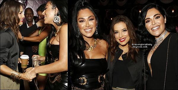 • 18 - 23 Août 2o19 •  - Los Angeles, Etats-Unis. 📷 Eva a posté des « Photo d'elle, Santiago & Alina Peralta ».