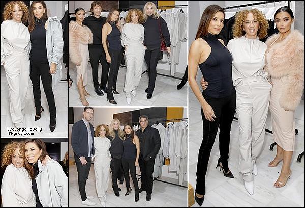 • 12 Décembre 2o19 •  - Beverly Hills, Etats-Unis. ⭐ Eva est allée au « Lancement de The CRK + Vimmia Collection ». Tenue: Top Vimmia à 75¤ & Pantalon Vimmia à 125¤.