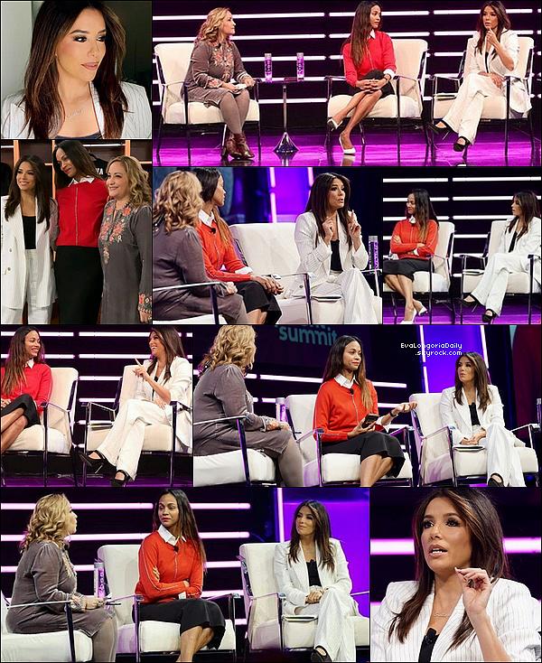 • 3o Janvier 2o2o •  - Pasadena, Etats-Unis. ⭐ Eva & Zoé Saldana sont allées au « Upfront Summit 2020 ». Tenue: Veste Rebecca Vallance & Pantalon Rebecca Vallance.
