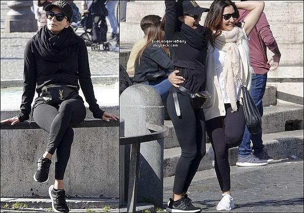 • 24 Février 2o2o •  - Los Angeles, Etats-Unis. 📷 Eva a posté une « Photo de Santiago » qui est resté avec son Papa aux Etats-Unis pendant que maman travaille sur un tournage en Italie.