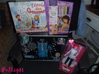 Mes cadeaux de Noel