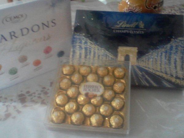 mes chocolats préféré