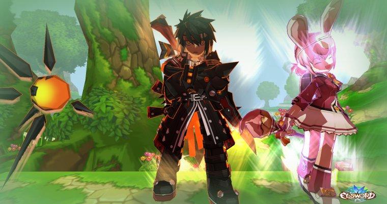Masacre sur Elsword avec Yuzuka.