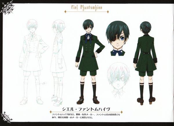 Characters Design [Ciel Phantomhive]