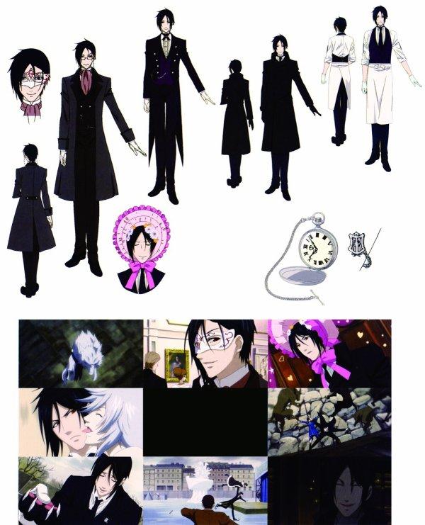 Characters Design [Sebastian Michaelis]