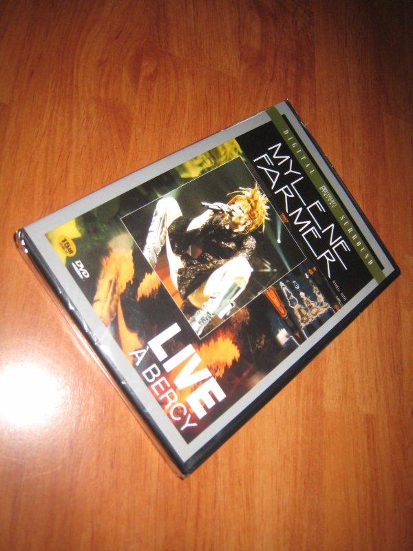 Petit cadeau DVD Live Bercy Japon (import Corée) xD