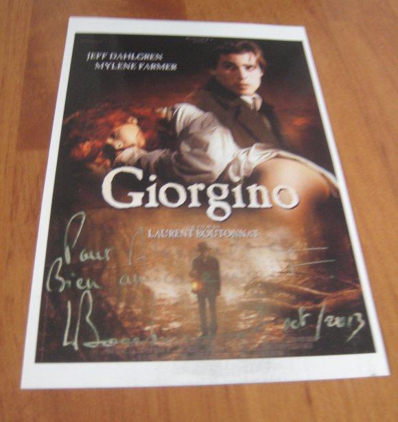 Autographe, Laurent Boutonnat