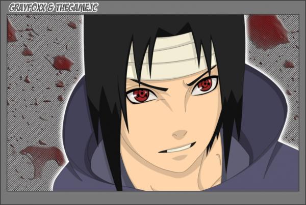 sasuke avec le sharingan