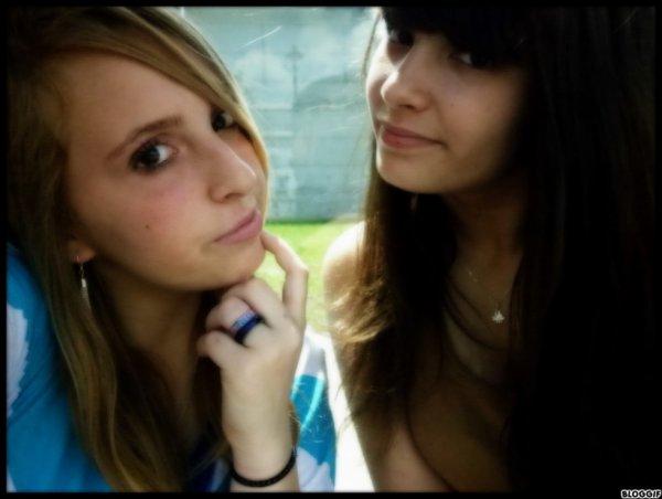 Sahra & Marion ♥ Sa Date Nous 2 , 7 Ans D'Amitiè Ma Shery..Je t'aime ♥ ;D M&S ♥.