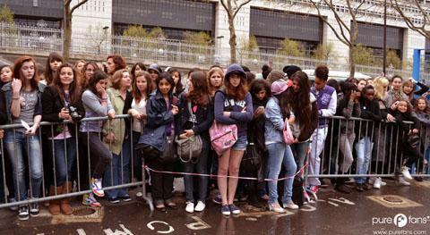 Justin Bieber a Paris Bercy le 29 Mars 2011