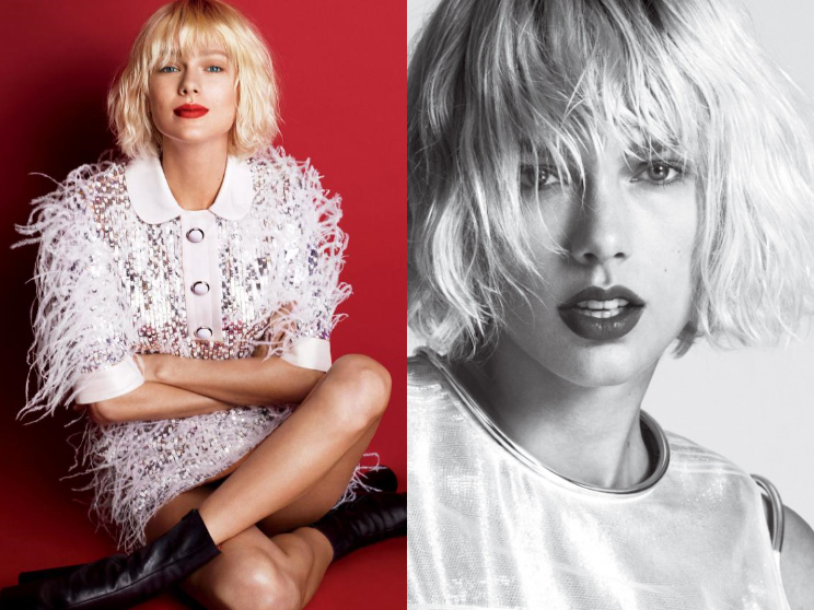 Taylor Swift pour Vogue US Magazine Mai 2016