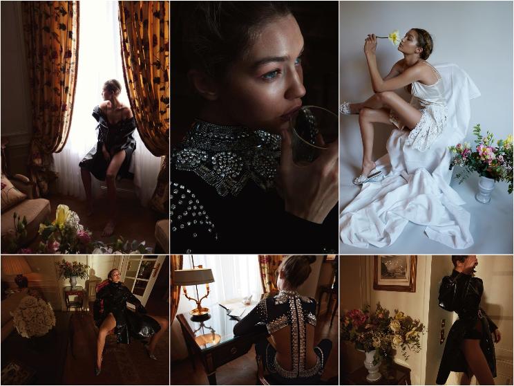 Gigi Hadid pour Vogue Magazine Allemagne, Mai 2016