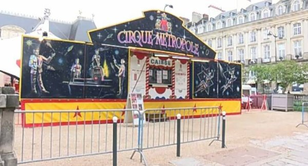 Le cirque metropole en ville !