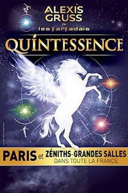 "Le cirque équestre Alexia gruss avec "" quintessence"""