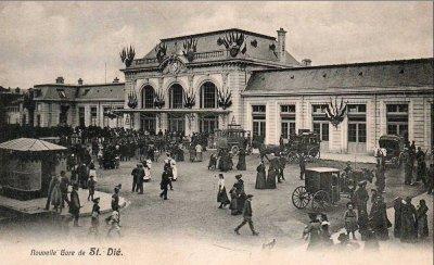 Gare de Saint-Dié